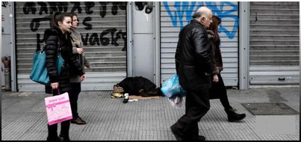 Πρωτεία στην αύξηση της φτώχειας