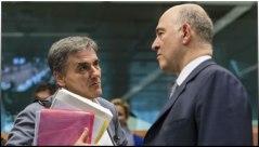 Τσακαλώτος - Μοσχοβισί Eurogroup 22 - 5 - '17